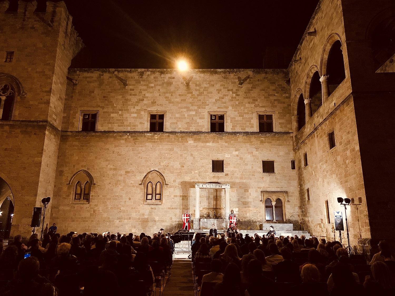 14ο Διεθνές Φεστιβάλ Ρόδου: Μαγικές Βραδιές Μουσικής στο Παλάτι του Μεγάλου Μαγίστρου