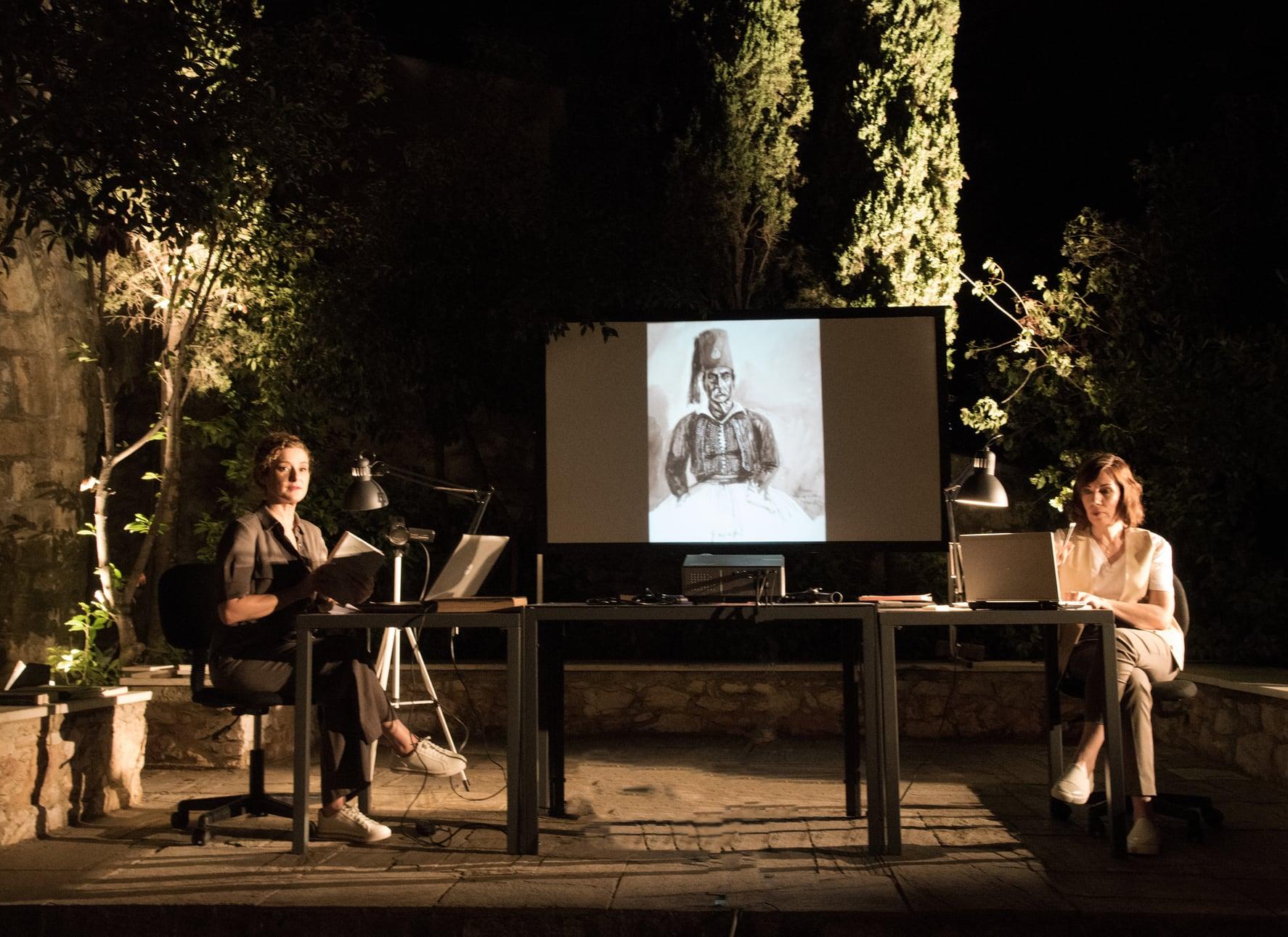 Απομνημονεύματα Κολοκοτρώνη με τον Μάνο Βακούση στο Μουσείο Ιστορίας του Πανεπιστημίου Αθηνών