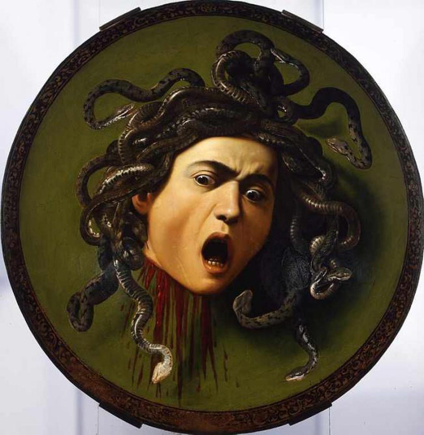 Καραβάτζο, Μέδουσα, 1597. Photo Credits: WikiCommons