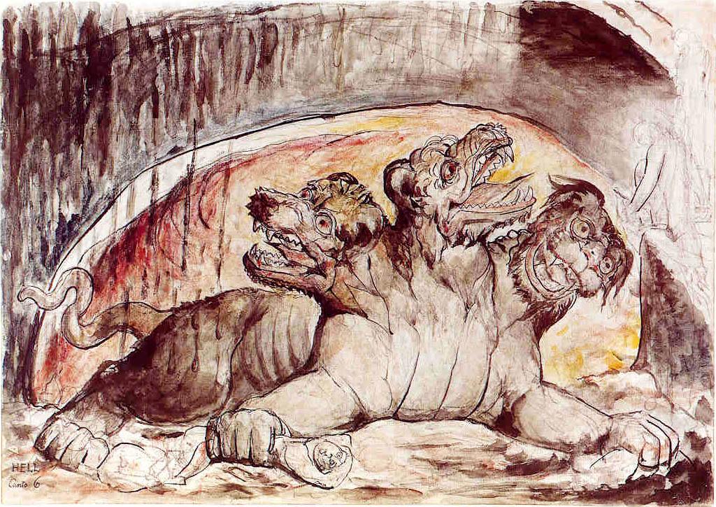 Ο θρυλικός φύλακας του κάτω κόσμου, Κέρβερος. Photo Credits: Wikimedia Commons