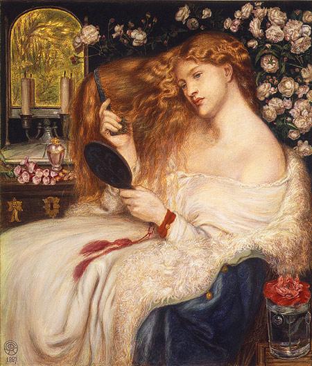 Η Λίλιθ, 1867, Ντάντε Γκάμπριελ Ροσέτι. Photo Credits: Wikimedia Commons