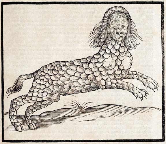 Η Λάμια. Photo Credits: Edward Topsell / Wikimedia Commons