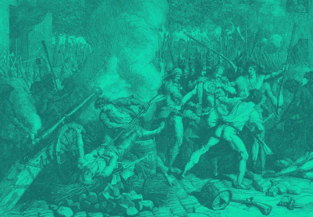 Επαναστατικό απόσπασμα 0021 Τα κορμιά της Βαστίλης