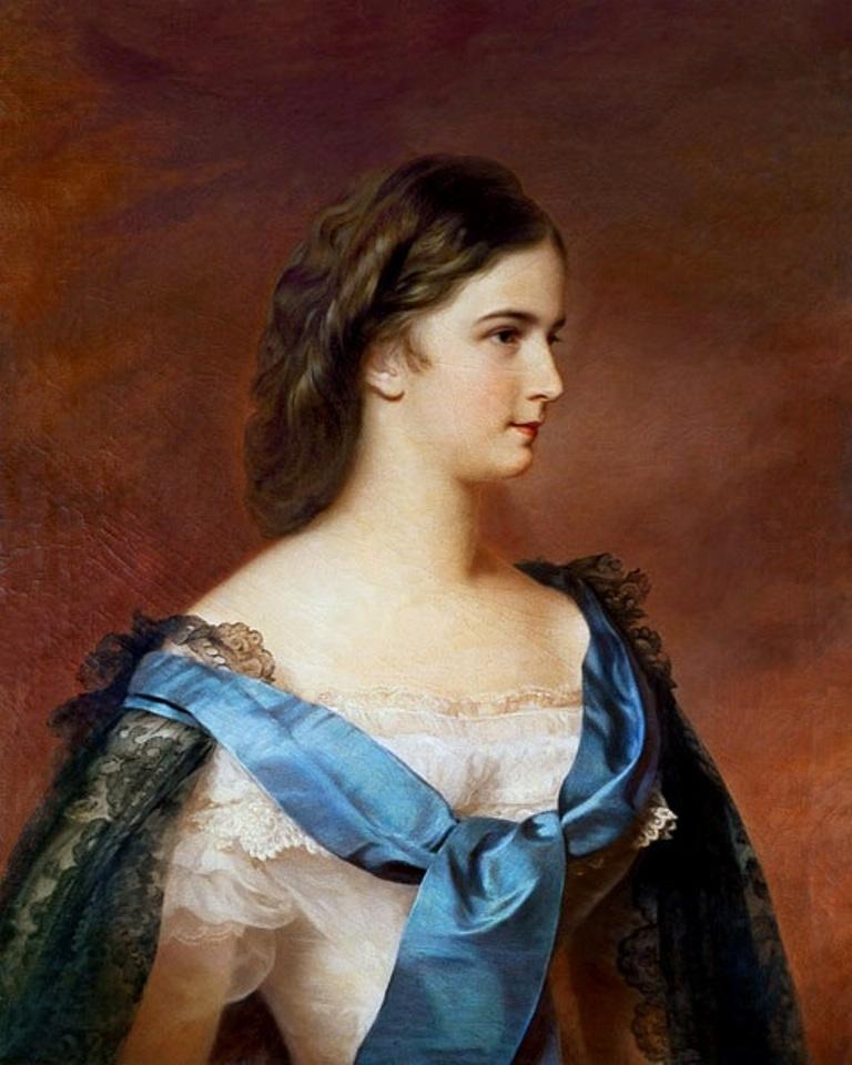 Η πριγκίπισσα Σίσσυ, Franz Schrotzberg. Photo Credits: Wikimedia Commons