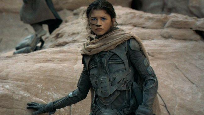 Η Ζεντάγια ως η Chani από την φυλή Fremen