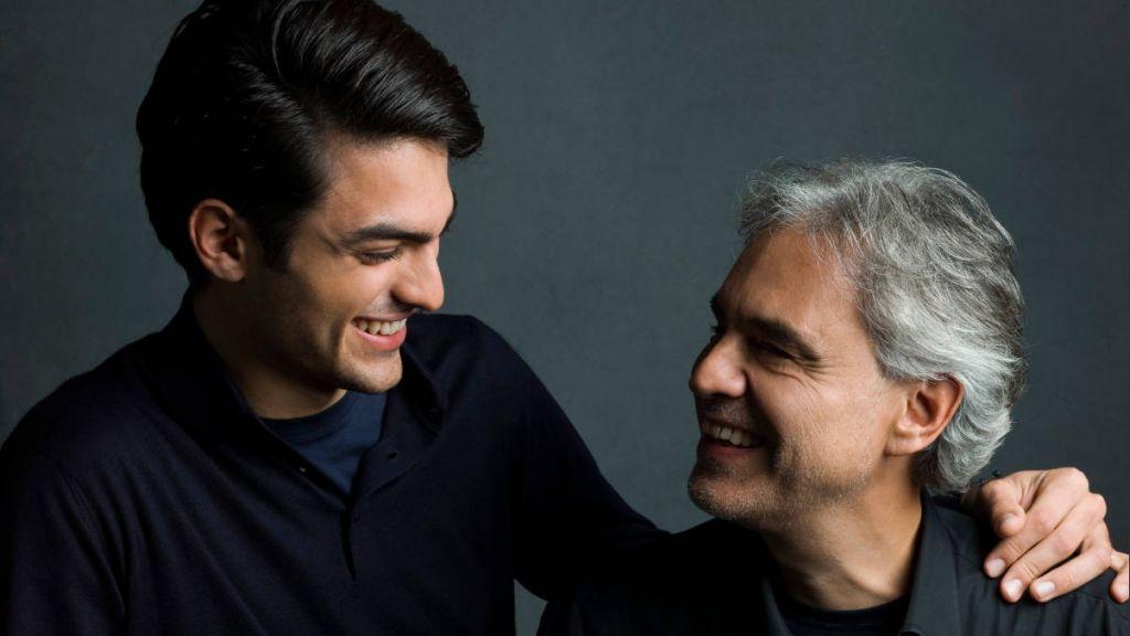 Ο Ματέο Μποτσέλι με τον πατέρα του Αντρεα, photo: Decca