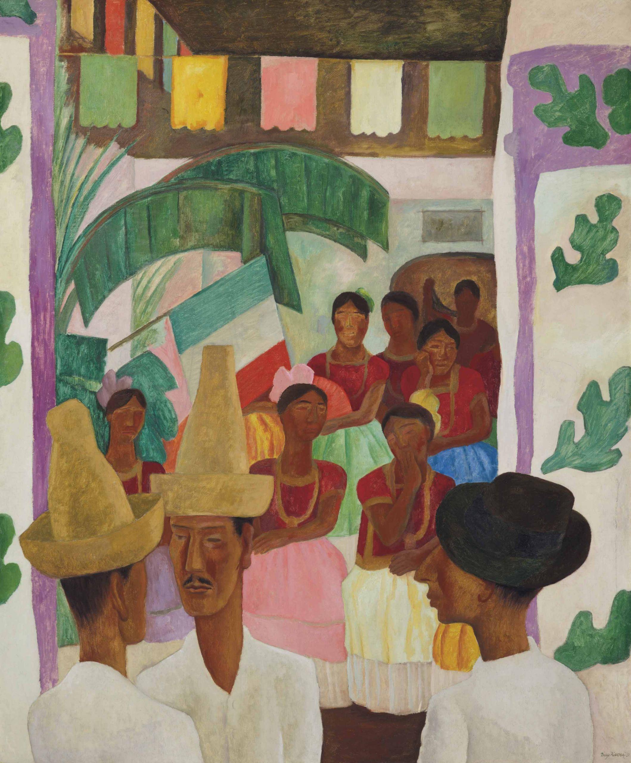 Ντιέγκο Ριβέρα, Οι Αντίπαλοι (The Rivals), 1931, © Christie's