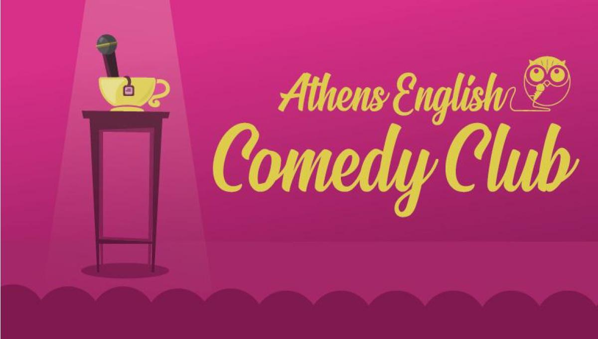 Athens English Comedy Club στο Θέατρο ELIART