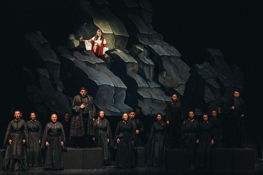 Δέσπω του Παύλου Καρρέρ, Εθνική Λυρική Σκηνή, φωτογραφία: Valeria Isaeva