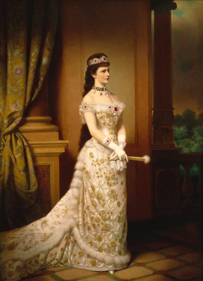 Η Αυτοκράτειρα Ελισάβετ της Αυστρίας, Γκέοργκ Μάρτιν Ίγκνατς Ράαμπ. Photo Credits: Wikimedia Commons