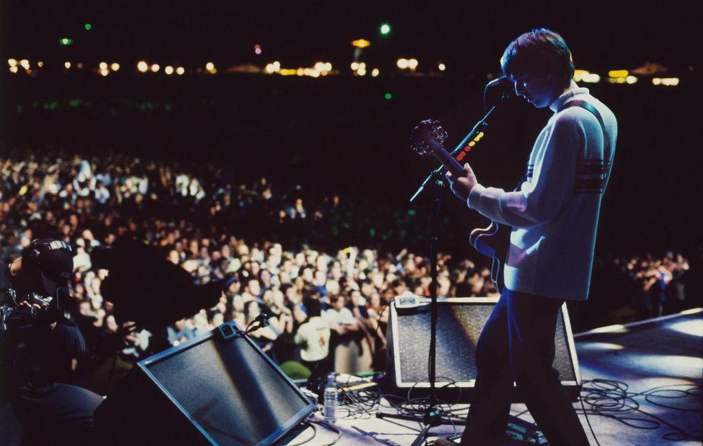 Noel Gallagher at Knebworth. CREDIT: Jill Furmanovsky