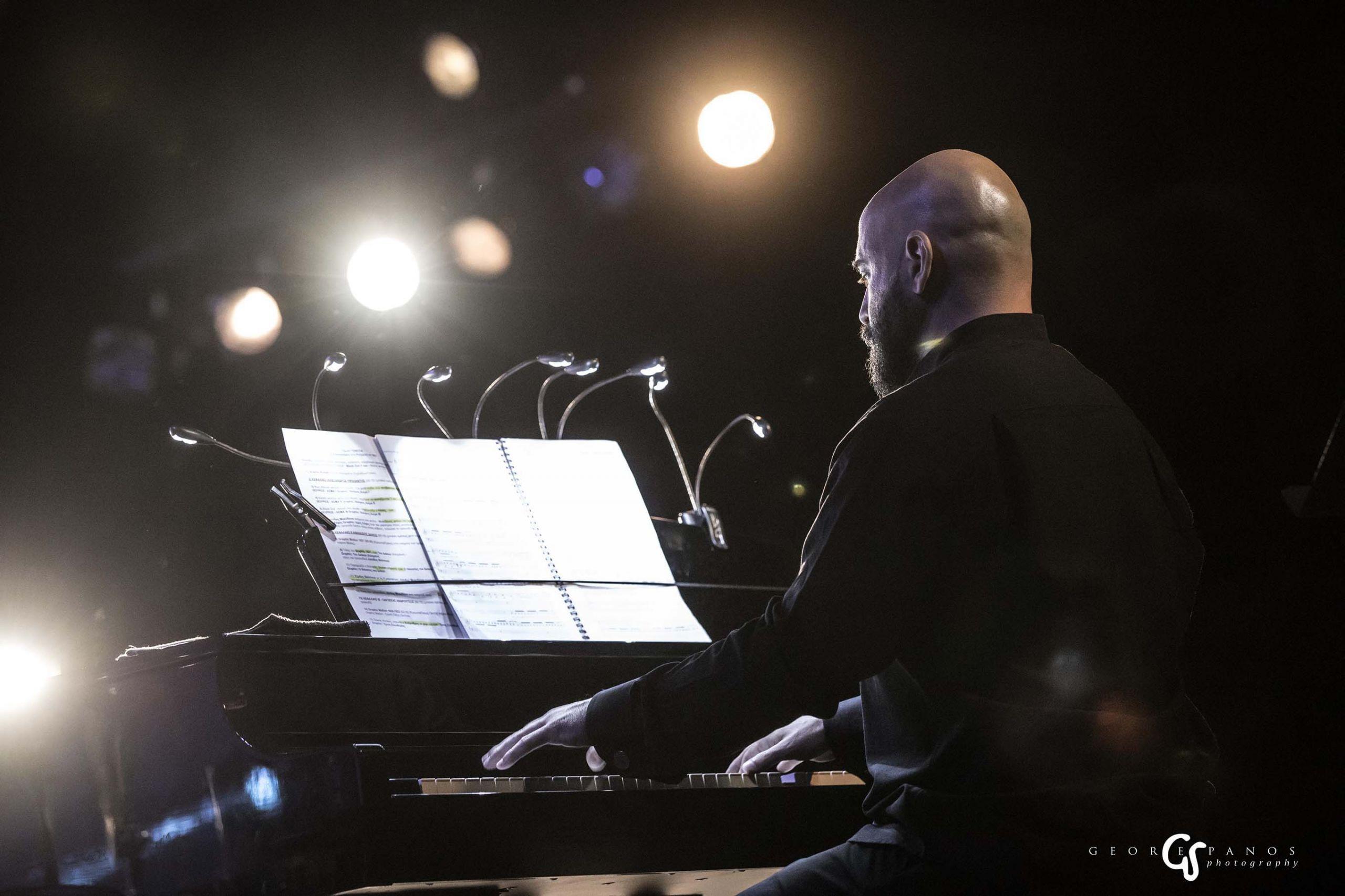 Ο εξαιρετικός συνθέτης Δημήτρης Μαραμής. Φωτογραφία:George Spanos Photography