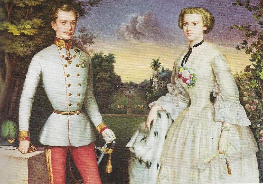 Η πριγκίπισσα Σίσσυ και ο Αυτοκράτορας Φραγκίσκος Ιωσήφ Α', Georg Kugler. Photo Credits: Wikimedia Commons