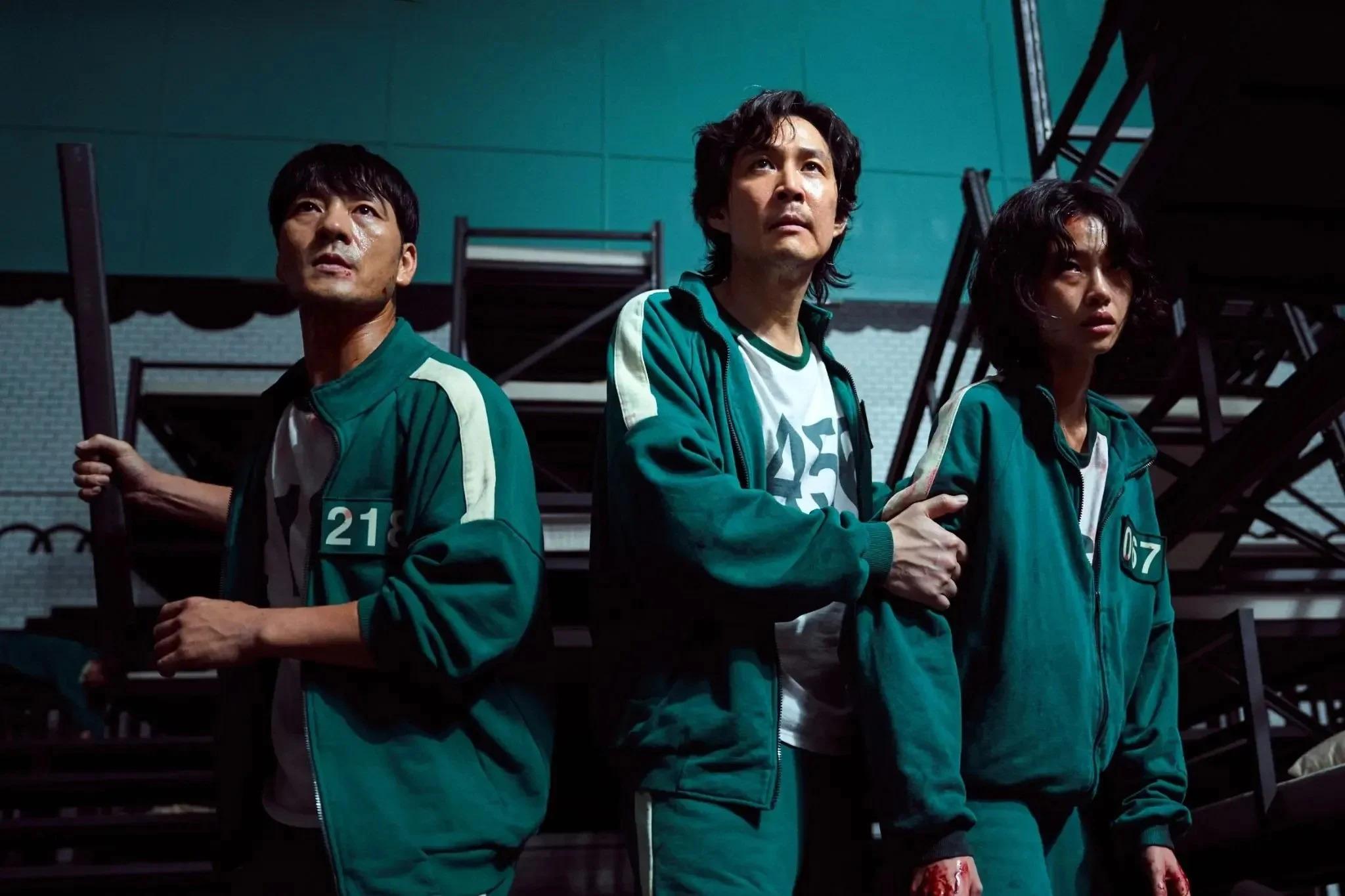 Οι χαρακτήρες Cho Sang-Woo, Seong Gi-Hun και Kang Sae-byeok. Photo Credits: Netflix