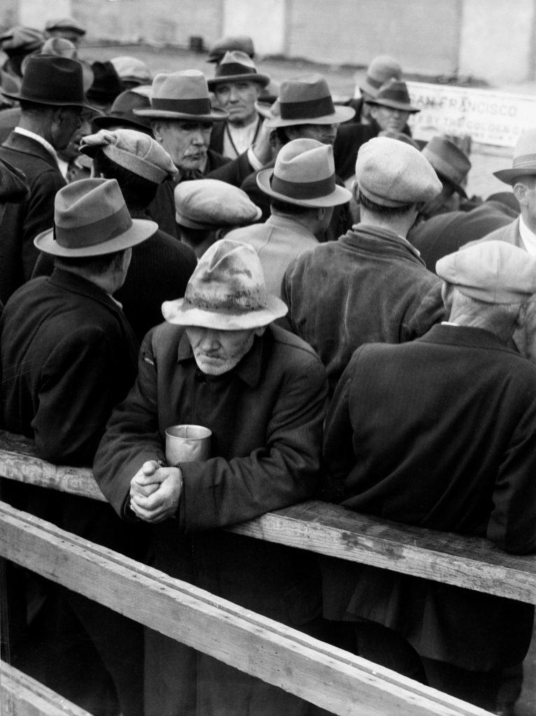 Το Σαν Φρανσίσκο του 1933. Photo Credits: The Dorothea Lange Collection, the Oakland Museum of California