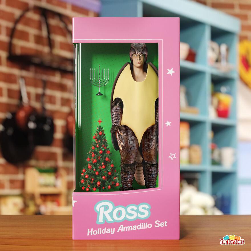 Κυκλοφόρησαν νέες κούκλες της αγαπημένης σειράς Friends.