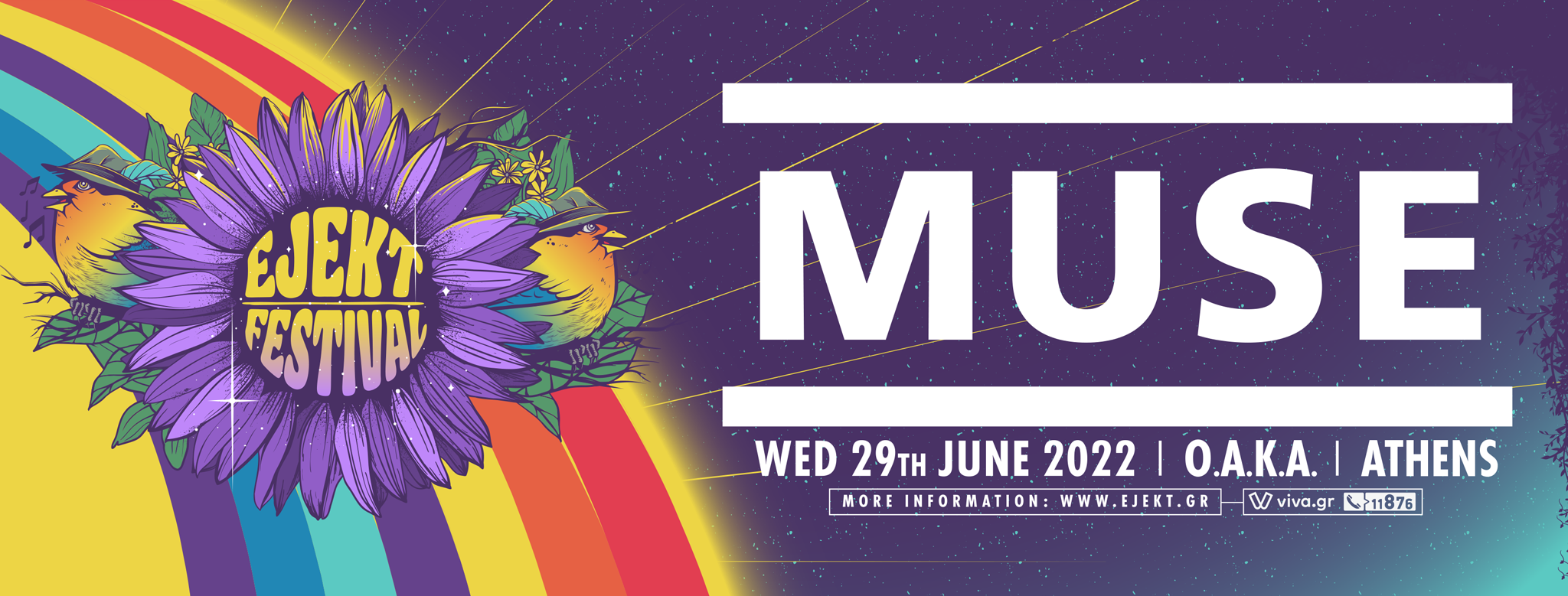 Οι Muse επιστρέφουν στη σκηνή του EJEKT Festival