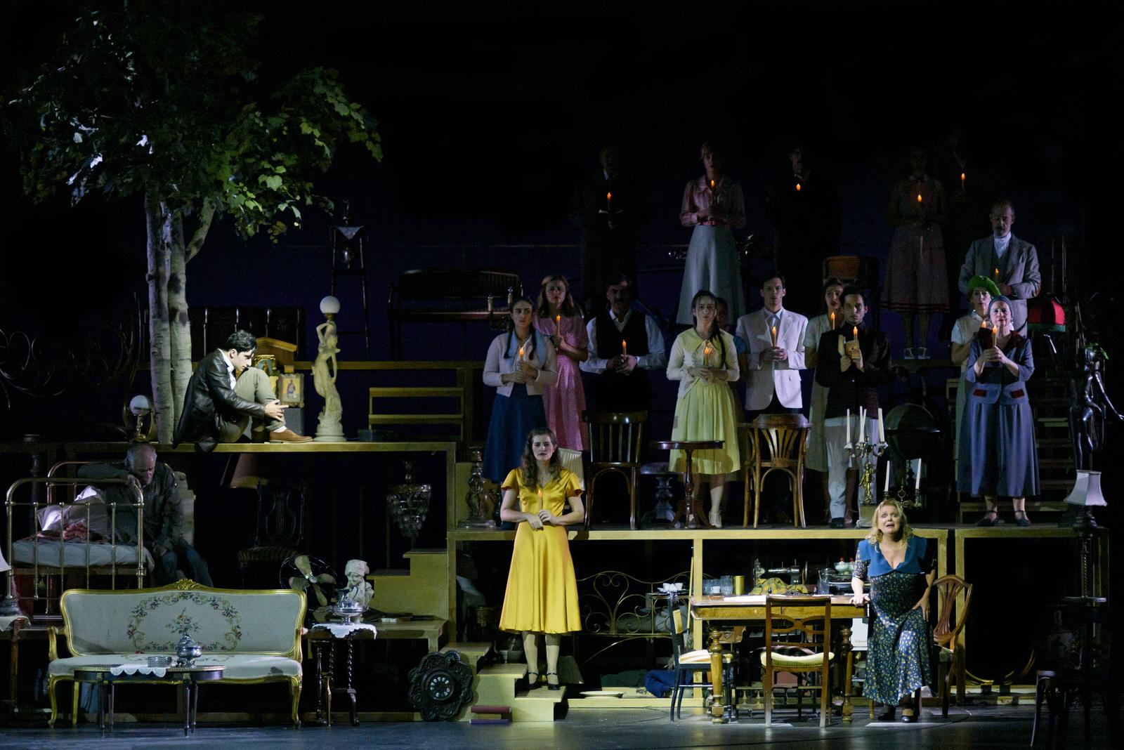 Το Τρίτο Στεφάνι στο Θέατρο Παλλάς, φωτογραφία: Ελίνα Γιουνανλή