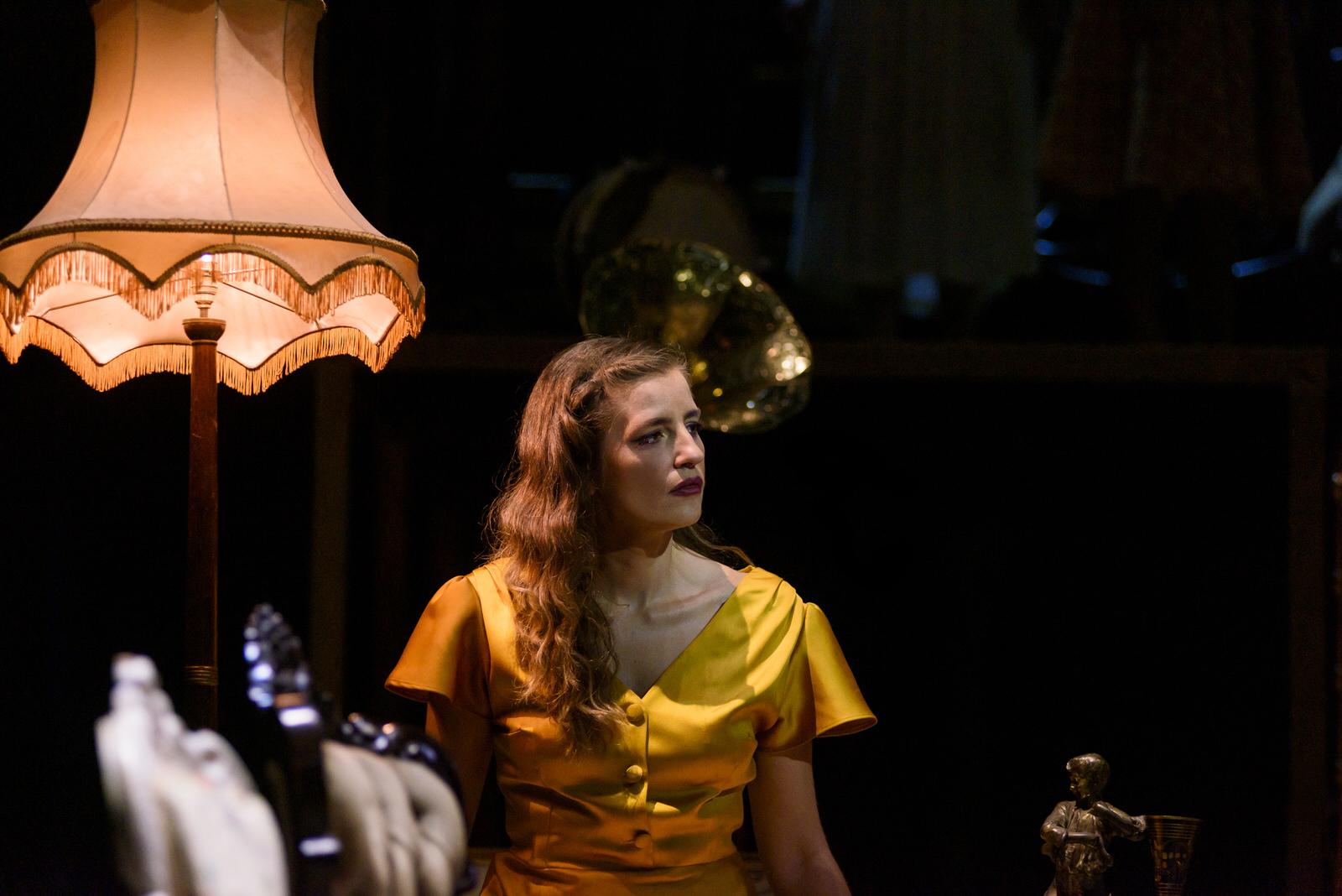 Η Μαρία Κίτσου στο Τρίτο Στεφάνι, φωτογραφία: Ελίνα Γιουνανλή