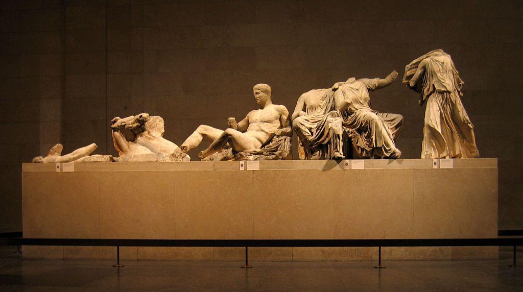 Τα γλυπτά του Παρθενώνα, photo credits: Solipsist~commonswiki/Wikimedia Commons