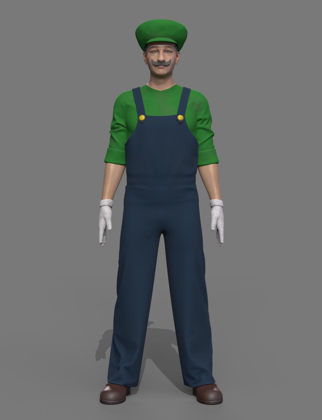 Ο Luigi σήμερα, credits: Comparethemarket