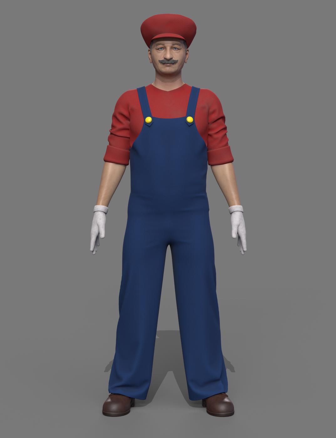 Ο Super Mario σήμερα, credits: Comparethemarket