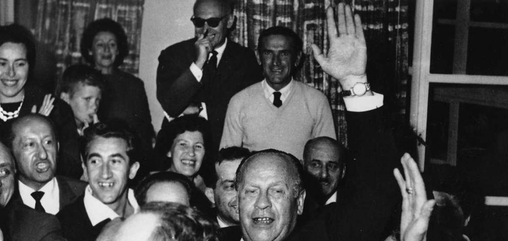 Ο Όσκαρ Σίντλερ στο Ισραήλ το 1962. (Πηγή: Ap Photos)