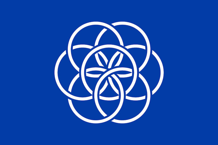 Η σημαία της Γης. Photo by The International Flag of Planet Earth