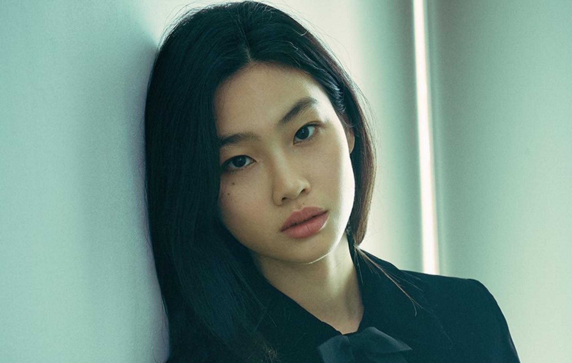 Το 27χρονο μοντέλο Jung Ho-yeon που κατέπληξε το κοινό στη δημοφιλή σειρά Squid Game. Photo Credits: Netflix
